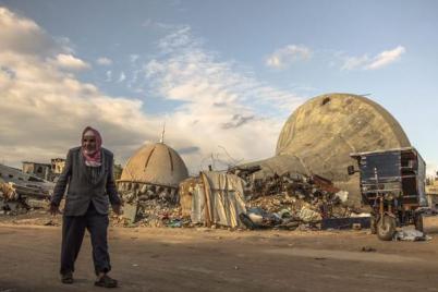 صورة من العدوان الإسرائيلي على غزة 2014