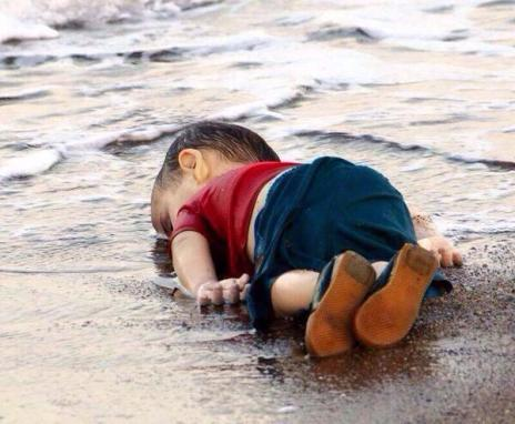 The boy was part of a group of 11 Syrians who drowned in the coastal town of Bodrum in Turkey